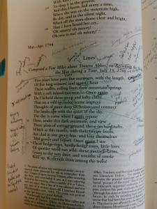 Buying used books may result in rather noisy layered annotations...but they are much cheaper.