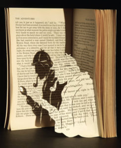 image by Musing Mends the Soul {link to http://musingmendsthesoul.blogspot.com/2012/01/book-art-sherlock-holmes.html}