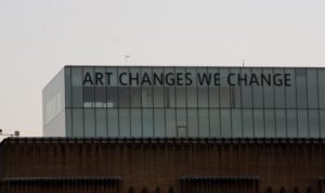 Some words to ponder courtesy of the Tate Modern